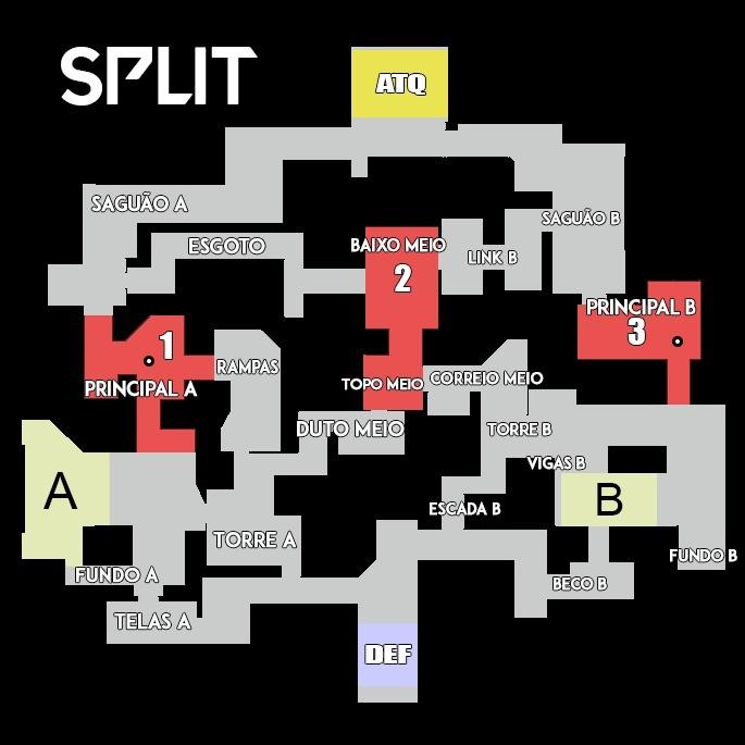 Mapas - Valorant - Split