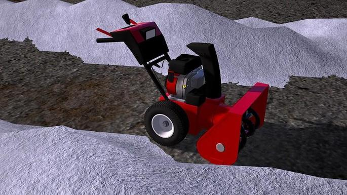 Máquina para remover neve mod farming simulator 2017