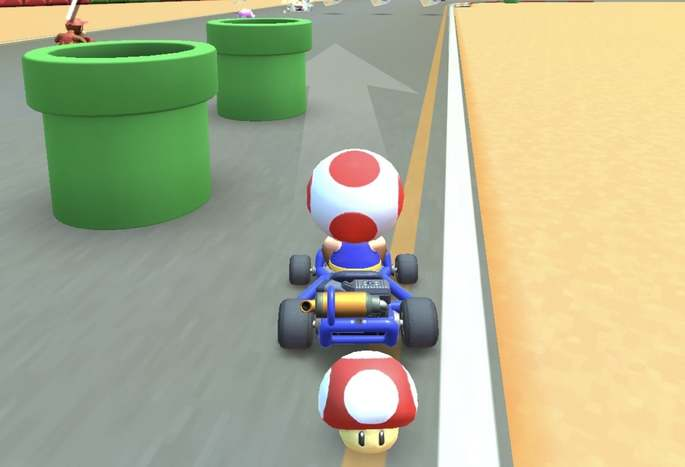 Mario Kart Tour tuberías