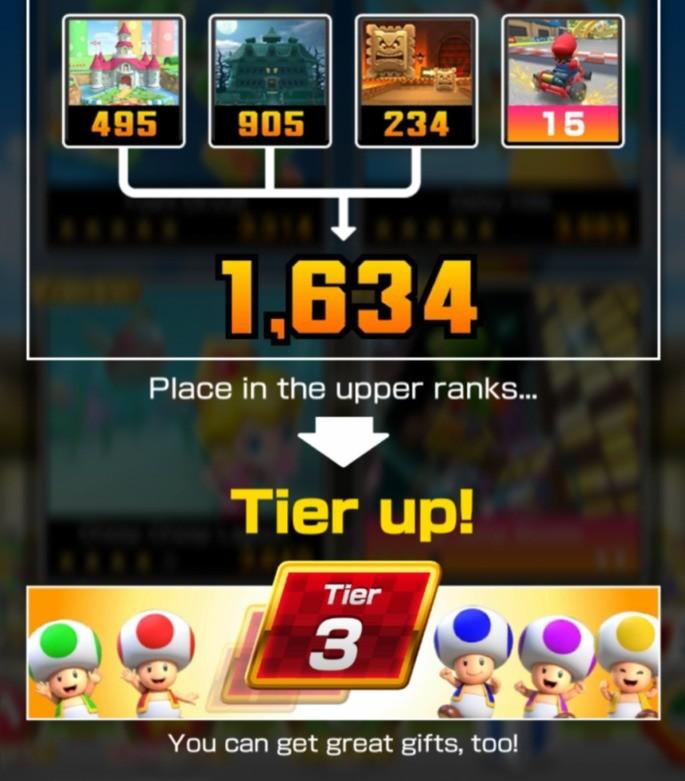 Mario Kart Tour - Desbloquear Clasificación