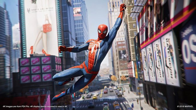 marvel's spider man ps4 jogo