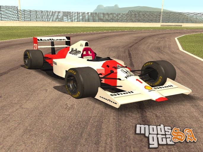 McLaren gta sa carros