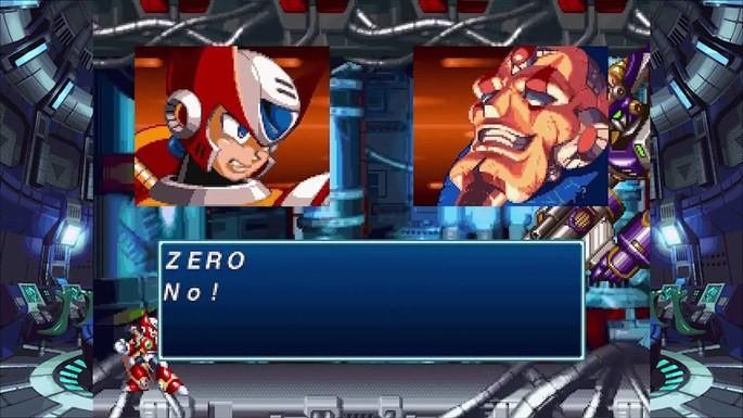 Mega Man X4 ps1