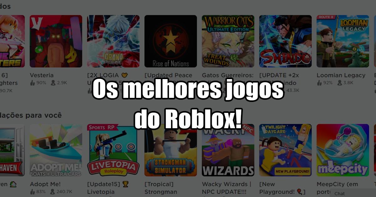Tem Roblox No Xbox 360 Os 20 Melhores Jogos De Roblox Que Voce Precisa Conhecer Liga Dos Games
