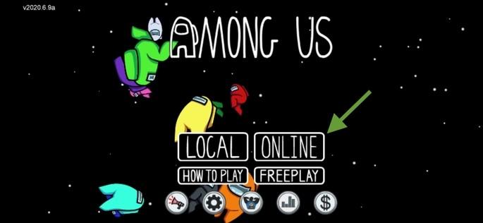 menu online among us