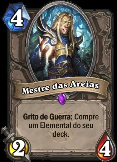 Mestre das Areias - Hearthstone