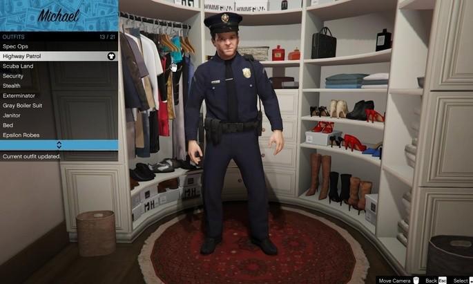 Michael policial GTA V