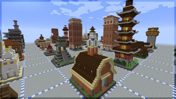 Minecraft arquitetura