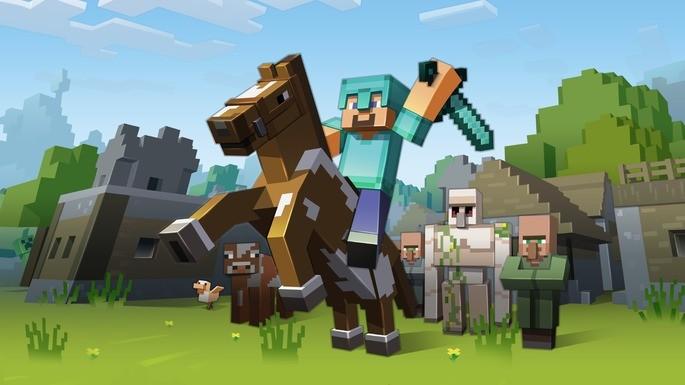 Minecraft jogos viciantes pc