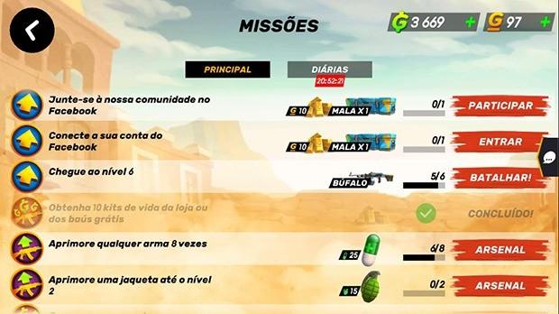 Missão Principal GOB