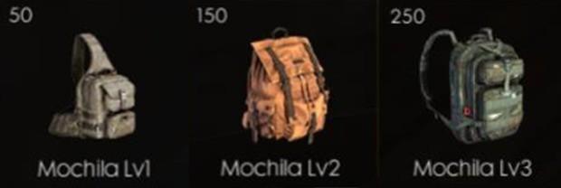 Mochilas Free Fire 3