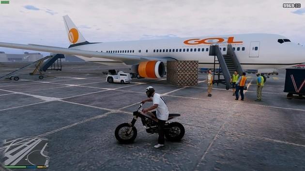 MOD GTA V aeroporto brasileiro