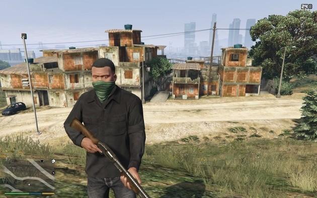 MOD de GTA V de favela do Rio de Janeiro