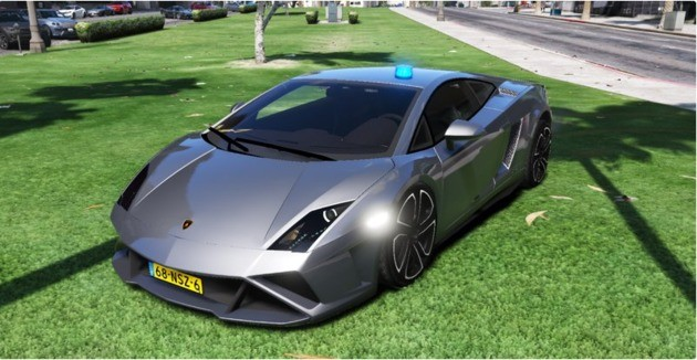 Lamborghini Gallardo MOD GTA V