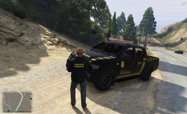 MOD GTA V Polícia Federal Brasileira