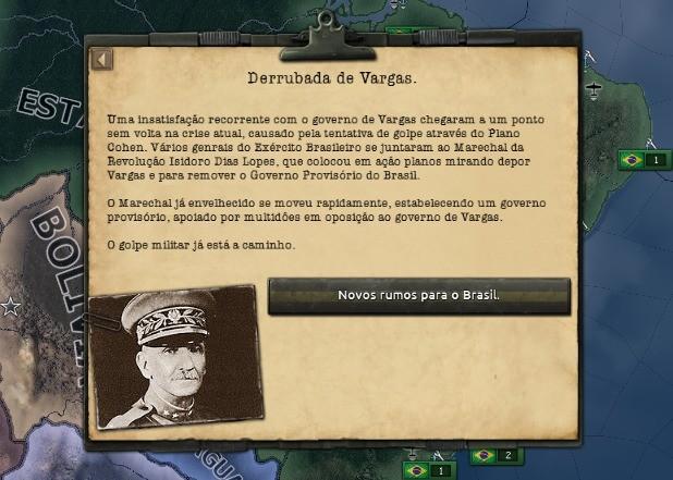 Mod HOI4 ditadura brasileira
