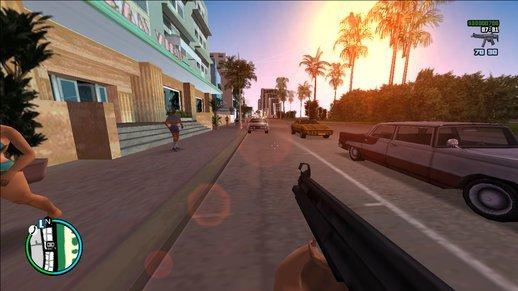 Modo primeira pessoa GTA Vice City mod
