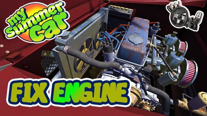 Motor não quebra mod my summer car