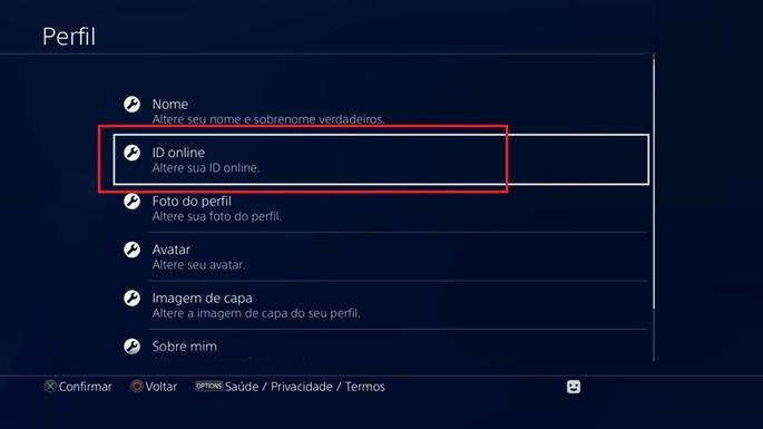 Mudar nome Fortnite - PS4
