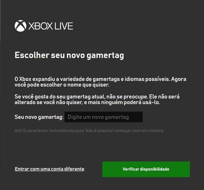 Mudar nome Fortnite - Xbox One