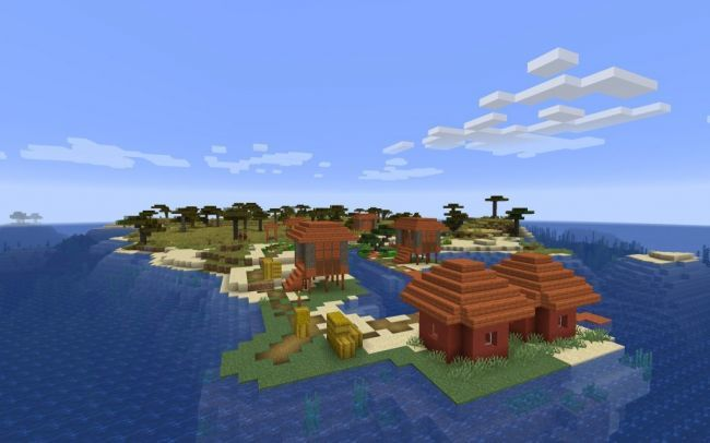 Mundo náufrago Minecraft