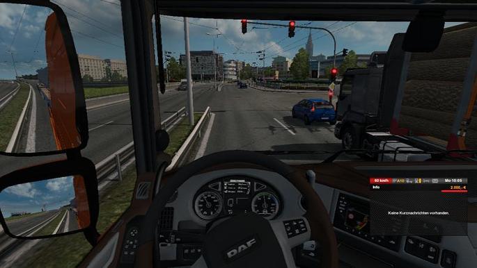 Não paga multa Euro Truck mod