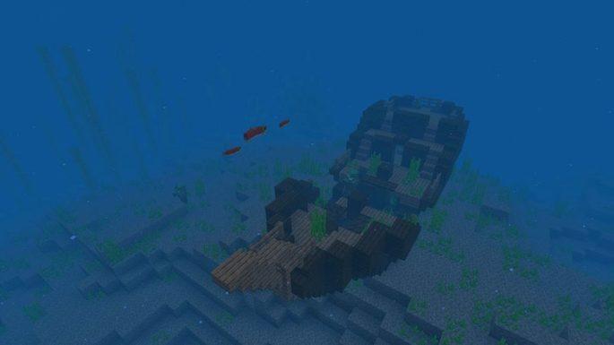 navio afundado seed