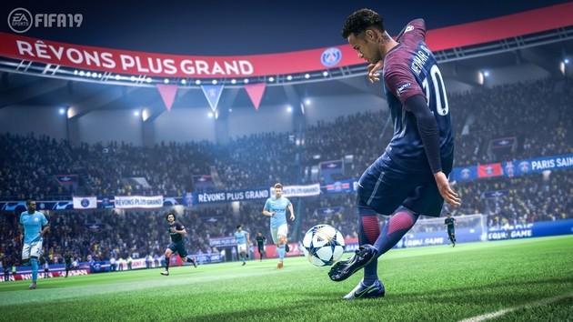 FIFA 19 - melhores jogadores por posição
