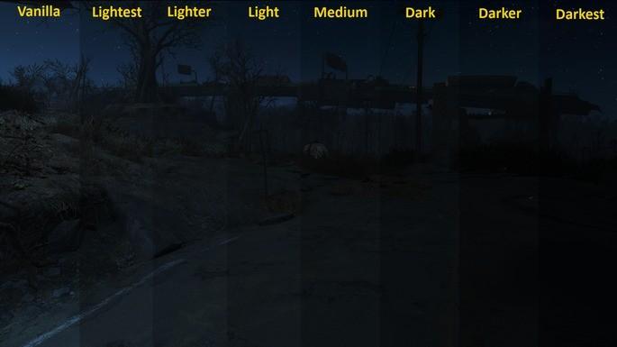 Noites escuras mod fallout 4