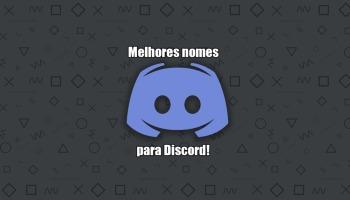 163 nomes para Discord: legais, criativos e engraçados!