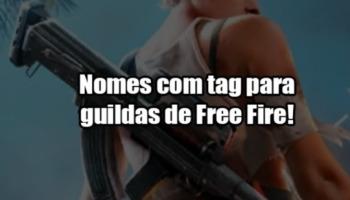 403 nomes para guildas de Free Fire!