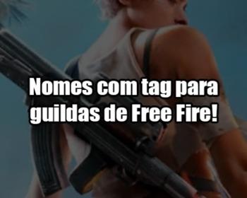 503 nomes para guildas de Free Fire!