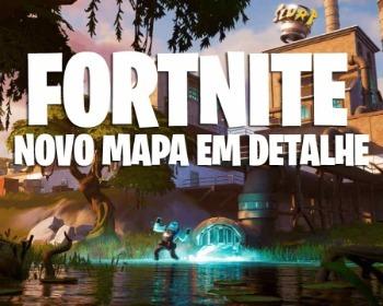 Novo mapa de Fortnite: Battle Royale: Saiba o que mudou!