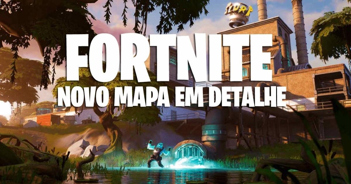 Novo Mapa De Fortnite Battle Royale Saiba O Que Mudou Liga Dos