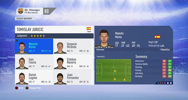 Olheiros - FIFA 19 Modo Carreira