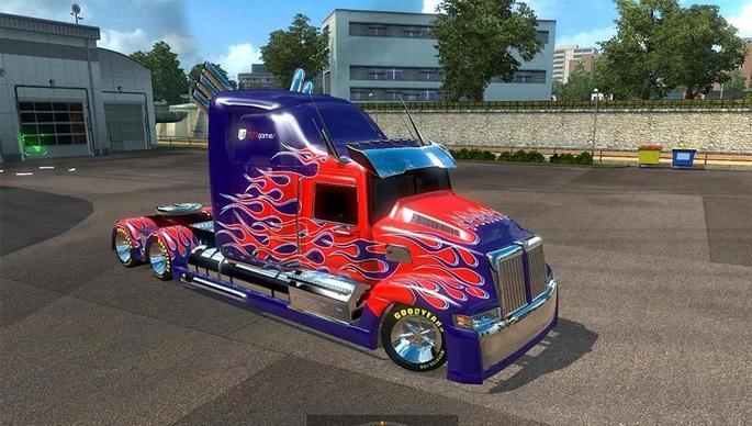 optimus prime eurotruck