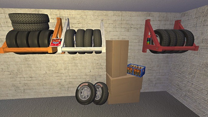Organizar pneus mod my summer car