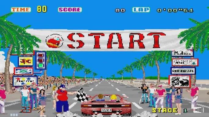 Out Run Mega Drive