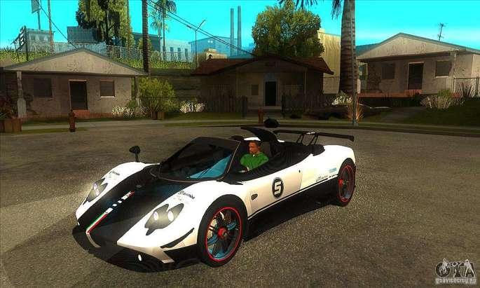 Pagani GTA SA carros