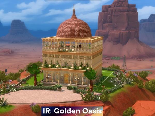 Palácio no deserto the sims 4 casas