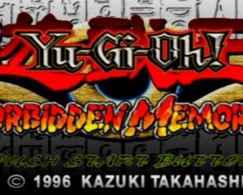 Todos os passwords de Yu-Gi-Oh! Forbidden Memories!