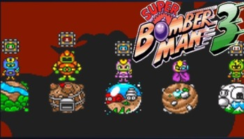 Lista completa de passwords de Super Bomberman 3!