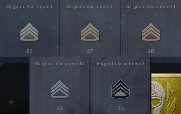 Patente de Sargento Assistente - CoD Warzone