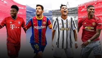 PES 2021: os melhores jogadores e seu overall