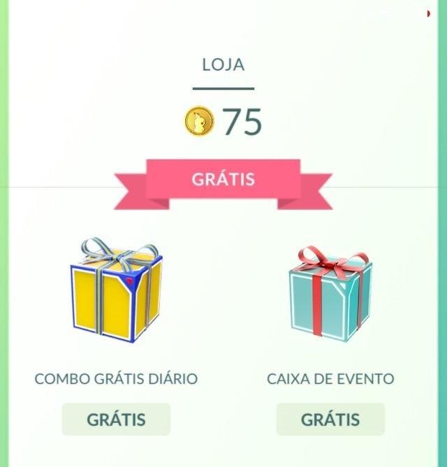 Pokébolas grátis - Pokémon GO