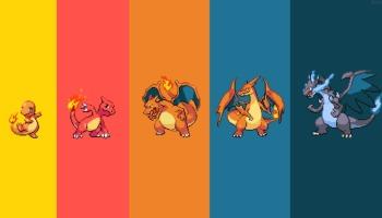 Todas as evoluções dos Pokémon da versão Fire Red!