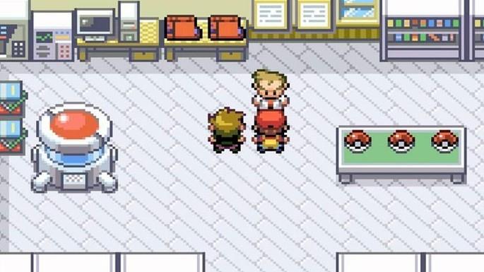 Pokémon Fire Red GBA
