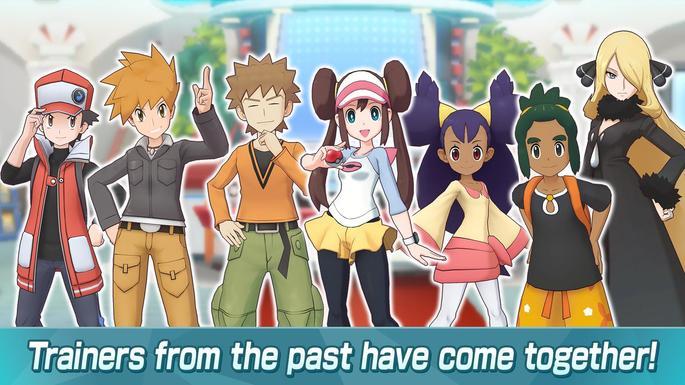 Pokémon Masters fan service