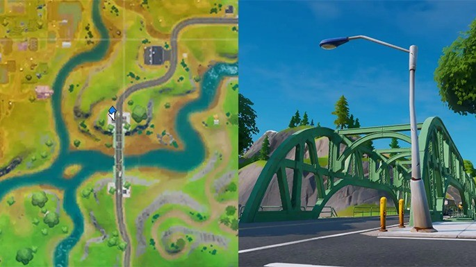 Ponte de Aço Verde - Fortnite