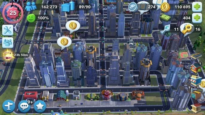 População SimCity BuildIt